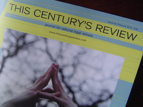 THIS CENTURY'S REVIEW